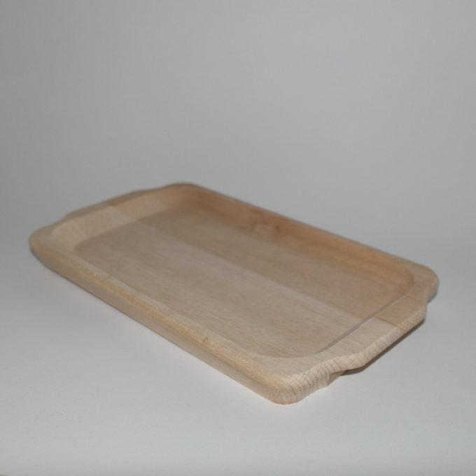 ciotola in legno per polenta con manici