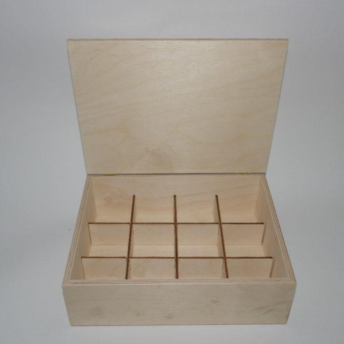 Scatola in legno incisa a laser cm 22 x 28 x 8