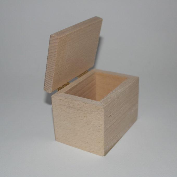 Scatola in legno cm 7 x 9 x 6,5