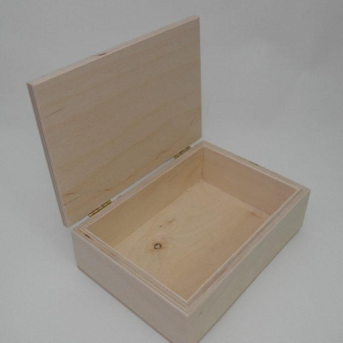 Scatola in legno cm 16 x 11, 5 x 4