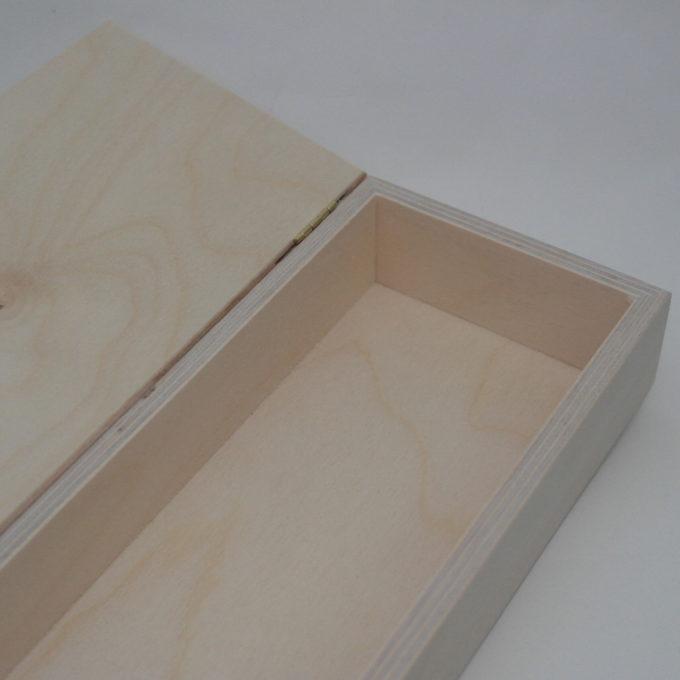 Scatola in legno cm 29 x 11, 5 x 5