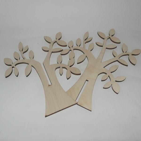 Albero della vita in legno doppio
