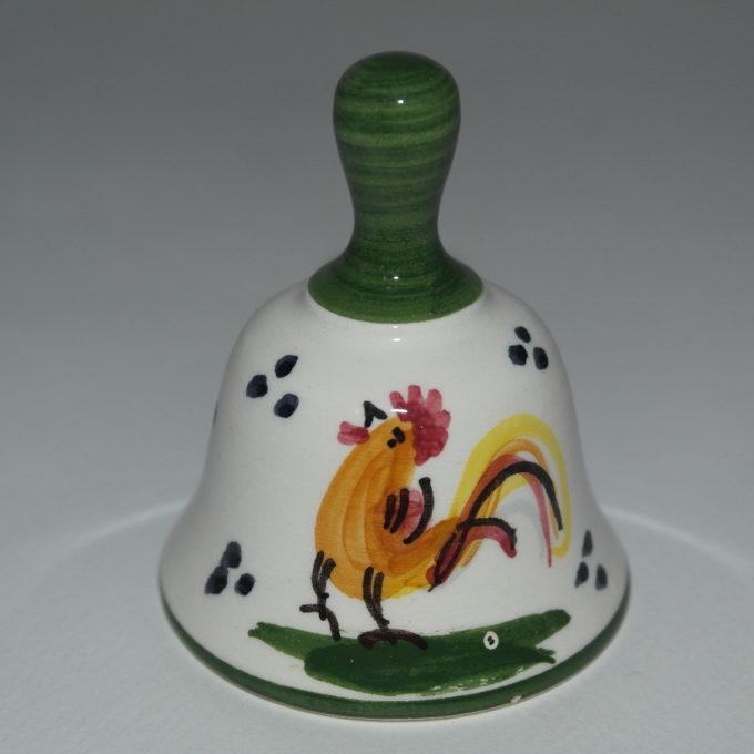 campanella in ceramica di castelli gallo