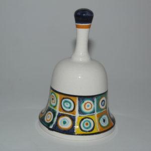 campanella in ceramica di castelli terzo cielo