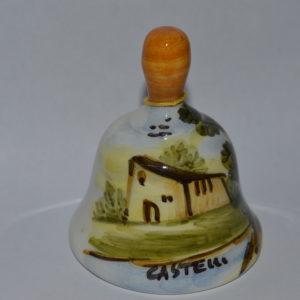 campanella in ceramica di castelli panorama