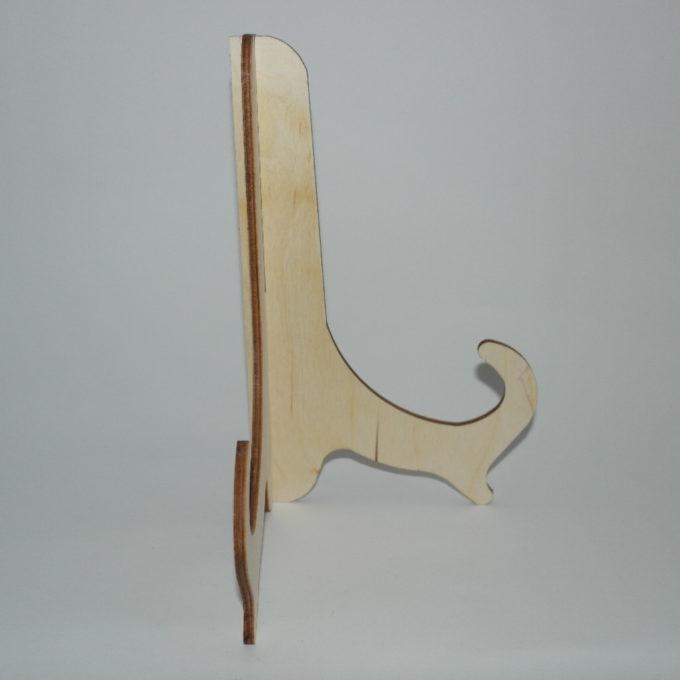Cavalletto due pezzi in legno artigianale