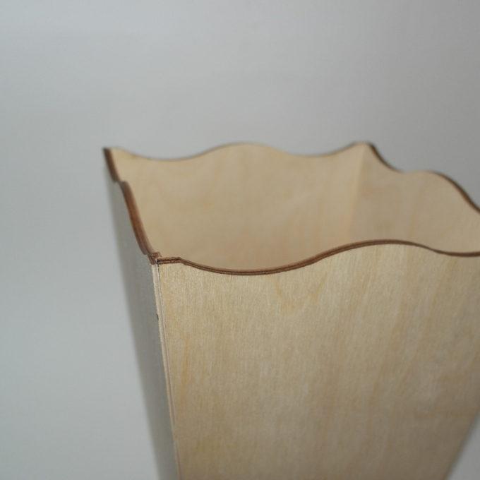 Gettacarte legno faggio