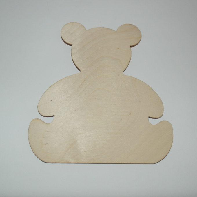 Sagoma in legno soggetto orso