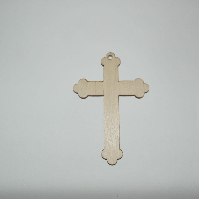 croce in legno artigianale cm 12 x 8