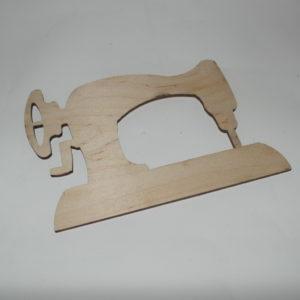 sagoma in legno macchina da cucire cm 20 x 14