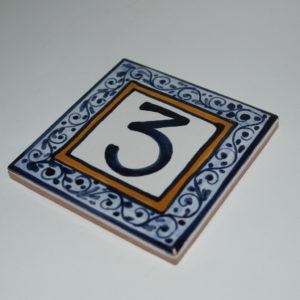 mattonella in ceramica