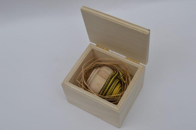 bomboniera scatola in legno con trottola (1)