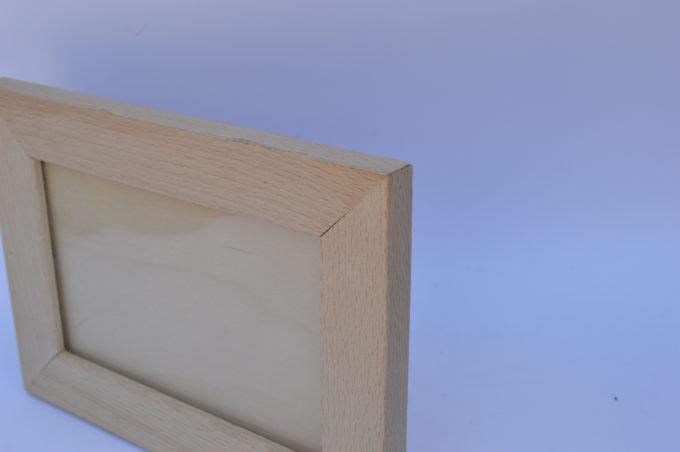 cornice in legno falda stretta