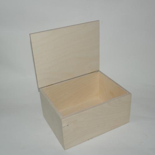 Scatola in legno artigianale cm 22 x 17 x 11, 5