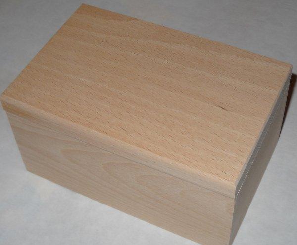 scatola in legno artigianale 7x14 legno
