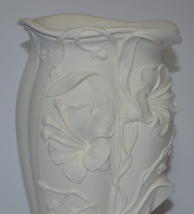 Vaso Liberty in terracotta bianca cm 33